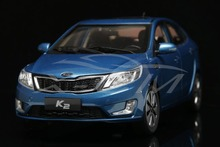 Diecast Car Model KIA K2 1:18 (Blue) + SMALL GIFT!!!!!!!!!!!