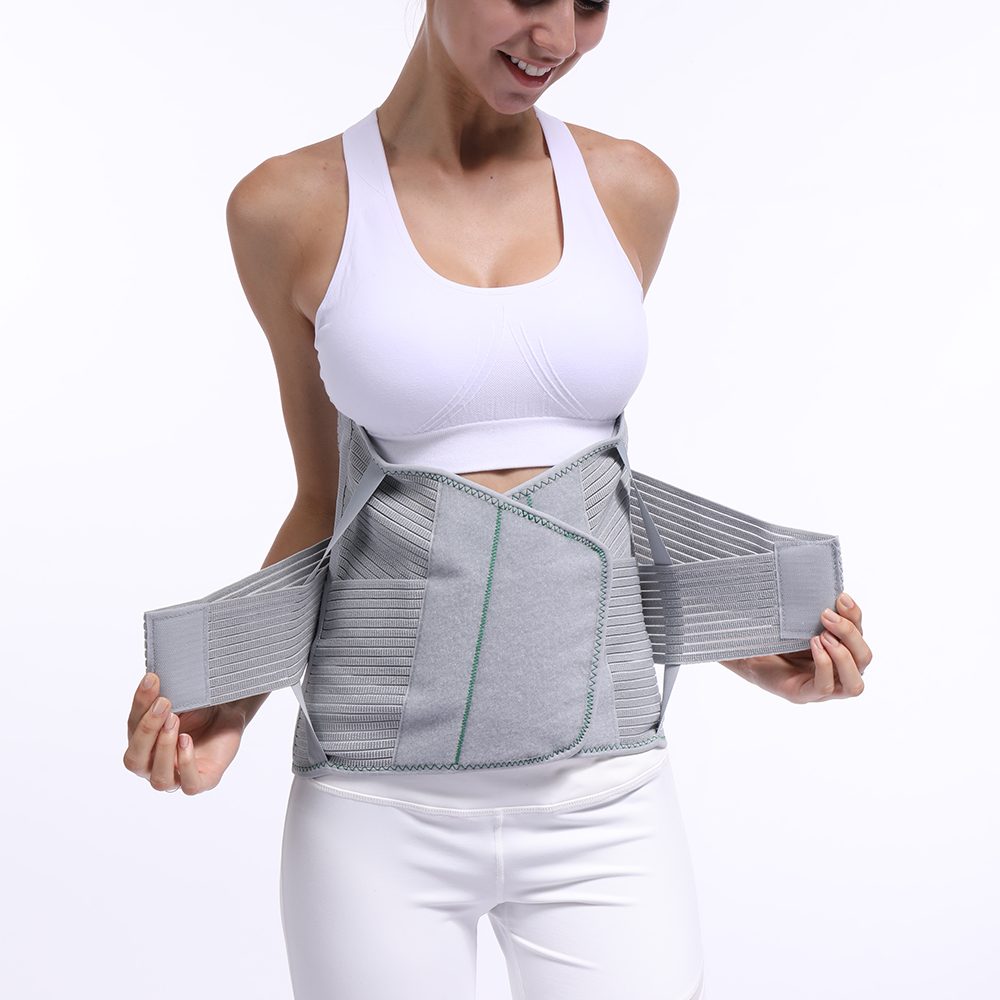 Lumbar Back Spinal Spine Waist Brace Support Belt Corset Stabilizer Cincher Tummy Trimmer Trainer Weight Loss Slimming Belt <br>