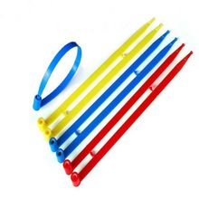 10PCS Logistics seals 220mm plastic Cable Ties tightening security seals self-locking Container pull Tight seals