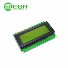 2pcs, LCD Board 2004 20*4 LCD 20X4 5V Yellow and Green screen LCD2004 display LCD module LCD 2004 in stock Game Module(China)