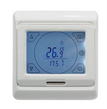 Buy AC220V 16A Touch screen Programable Thermostat, floor heating thermostat external NTC thermistor sensor for $34.57 in AliExpress store