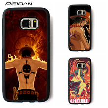 PEIDAN One Piece Ace cover phone case for samsung galaxy S3 S4 S5 S6 S7 S8 S6 edge S7 edge Note 3 Note 4 Note 5 #rr362(China)