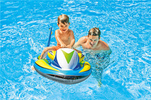 INTEX Swim Pool Funny Floats Toys Inflatable Air Mattress Kids Motorboat Swim Rings Swimming Swimming Pool Accessories