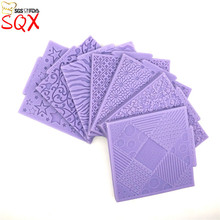 12 different types of leaf flowers lace line Silicone Mold Cake Mold Silicone Baking Tools Kitchen Accessories Fondant SQ16151
