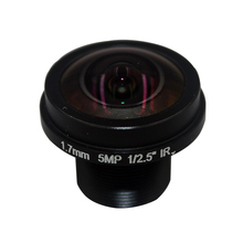 Cameye HD  Fisheye  cctv lens 5MP 1.7MM M12*0.5  Mount 1/2.5  F2.0  180 degree for security CCTV cameras