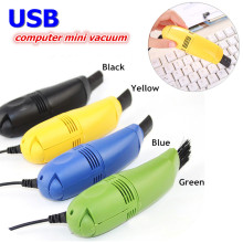 Mini High quality Portable Computer Vacuum USB Keyboard Cleaner Laptop computer Brush Dust Cleaning color random 4 colors