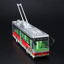 1:32  city bus Alloy Diecast Car Model Pull Back Toy Car model Electronic Car with light sound Kids Toys Gift