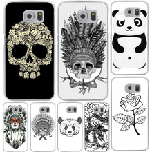 New Top Indian Head Skull Hard Cover Case for Galaxy S3 S4 S5 & Mini S6 S7 S8 Edge Plus