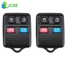 2pcs! Vehicle Keyless Entry Remote Control Car Key Fob Shell Clicker Transmitter Alarm 4 Buttons Replacement Case for CWTWB1U212