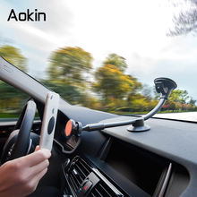 Aokin Car Phone Holder Long Arm Universal Windshield Dashboard Cradle Phone Holders Air Vent Phone Stands For iphone Samsung HTC