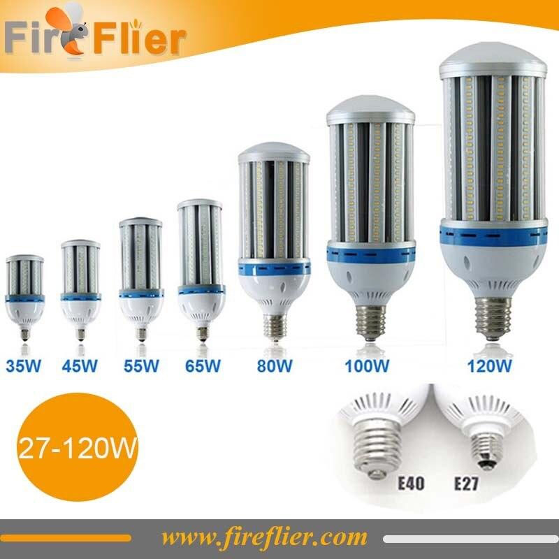 Free Shipping 15pcs/lot e27 e40 warehouse lamp led bulb 30w 40w 50w 60w 80w 100w 120w maize led bulb e27 outdoor ip64 bulb lamp <br>