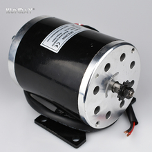 UNITEMOTOR MY1020 24VDC 500W High Speed DC Brushed Motor Electric Scooter Motor Mid Wheel Motors With Foot Bicycle Ebike Motor(China)