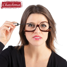 Chashma Brand Make Up Glasses with One Lens Costmetic Glasses with Prescription +1.0 1.5 2.0 2.5 3.0 3.5(China)