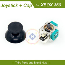 New ALPS Repair part 3D joystick analog with Thumb stick cap cover for XBOX 360 controller Xbox360 wireless wired gamepad