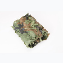 3* 10m Military woodland Camouflage Camo Net Woodlands Leaves Hide Military Camouflage Net outdoor shade car covers(China)