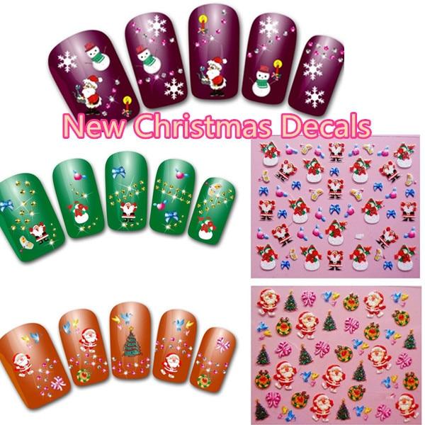 Christmas Nail Art Stickers Kitharingtonweb