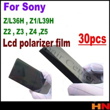 30pcs for Sony Xperia Z L36H Z1 L39H Z2 Z3 Z4 Z5 mini yellow green flex cable Anti Static Polarizer Polarized Film Lcd Refurbish(China)
