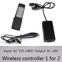 1 controller for 2 linear actuators with wireless control handle AC 110v-240v input and DC 24v output