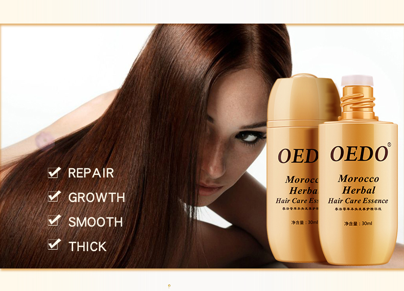 Morocco Herbal Ginseng Hair Care Essence Treatment For Men And Women Hair Loss Fast Powerful Hair Growth Serum Repair Hair root 4