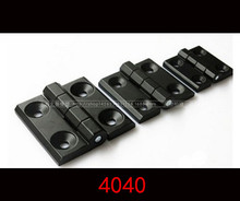 10pcs 4040 black Zinc Alloy Hinge Aluminum Profile Accessories Hinges