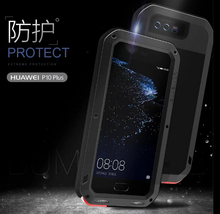 Dustproof shockproof Aluminum Metal Cell Phone Case Cover For Huawei Mate 9,Mate 9 Pro,P10/P10 Plus