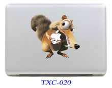 NEW Squirrel Laptop Skin Sticker Decal For Macbook Air Pro Retina 13 Mac book 13.3 inch (TXC-020)(China)
