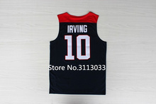 #10 Kyrie Irving 2014 Team usa Basketball Jersey Embroidery Stitched Custom any Number and name