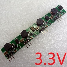 4pcs High Power 5V 12V to 3.3V DC DC Step Down Converter Buck Module for diy Breadboard PCB Universal board Power