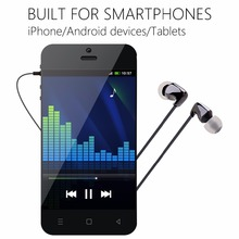 HIFI Stereo Earphone 3.5mm In Ear Earphone Nano Zircon Earphone Headset Earbuds With Mic For IPhone Samsung(China)