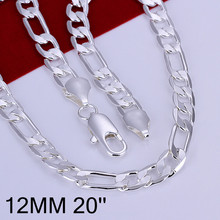 Big Promotion Figaro Chain Bohemia Male Chains Necklaces Factory Price Silver Plated Hiphop Men Jewelry Necklace For Men