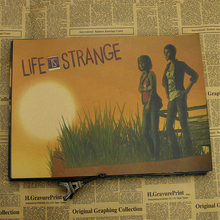 Life Is Strange Walk Railway Paper Painting Pictures on the Wall Paintings Home Decorations Posters and Prints Wall Art