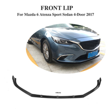 Buy Carbon Fiber Front bumper lip Chin Mazda 6 Atenza Sport Sedan 4-Door 2017 Car Styling for $274.07 in AliExpress store