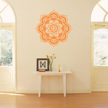 Creative yoga wall stickers mandala indian buddha symbol for living room decoration vinyl home deal