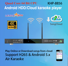 8856(#1)  Android Jukebox Karaoke Player Ktv 4K Ultra HD System With Songs Cloud,Support H.265 Video,support Air KTV