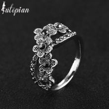Iutopian Brand Vintage Retro Plum flower Ring Anels For Women Antique  Top Quality Gift Girl Friend #RB02969