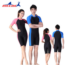 Lycra Wetsuit Stinger Wet Suits Diving Skin For Men Or Women One-piece Short Sleeve Jump Suit Swimsuit Swimwear Beach Clothes