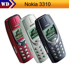 3310 Original Unlocked Nokia 3310 GSM Mobile phone Refurbished Cellphone In Stock(China)