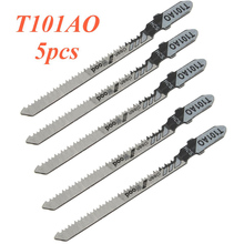 5pcs/lots T101AO HCS T-Shank Jigsaw Blades Jig Saw Blade Set Curve Cutting Tool For Wood Tools