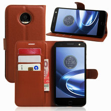 Buy High Flip Wallet Leather Case Bussness Card Slot Stand Cover Motorola Moto Z2 Play Holder Protector Bag Phone Shell for $4.67 in AliExpress store