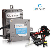 Car Rover 55W HID Xenon Conversion Kit H1 H3 H7 H11 HB3 HB4 9005 9006 With No Error CanBus Technology Ballasts 4300K 5000K 6000K(China)