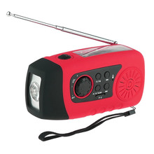 The solar dynamo radio FM radio MP3 flashlight multifunctional radio