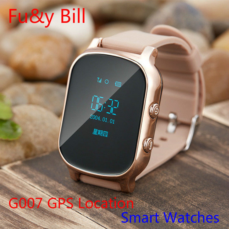 New Fashion childrens GPS positioning smart watches for the elderly to prevent loss of remote monitoring phone watch<br><br>Aliexpress