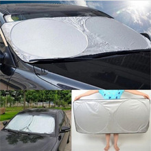 A set of Front Rear Side Windows Car Cover  UV Protection Sun Shade Reflective