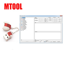 MTool Mileage Programmer Use to Adjust the Mileage Change of Cars ODB M-BUS Car Mileage Correction Tool of run for Hyundai Ford