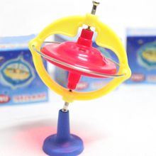 1 Set Creative Baby Funny Multifunctional Novelty Spinning Top Magic Gyroscope Gyro Kids Toys Music LED Light Toys for Children