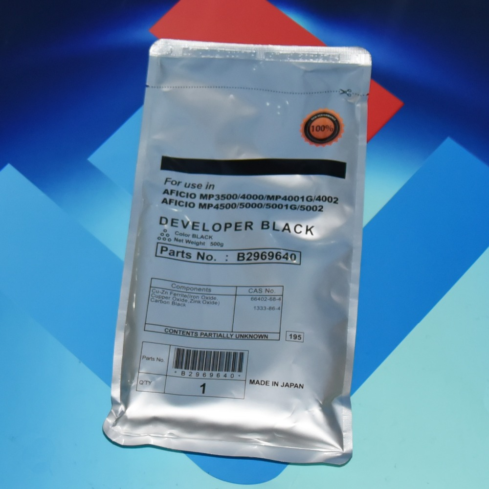 Free Shiping B296-9640 Developer 500g for Ricoh MP 3500 4000 4001 4002 4500 5000 5001 5002 SP 8200 MP 4001 41.77USD (3)