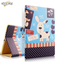 KISSCASE Smart Sleep Wake Up Leather Case Cover For Xiaomi MiPad 1 MiPad 2 7.9 Ultra Slim Flip Shockproof Tablet Cases Cover(China)