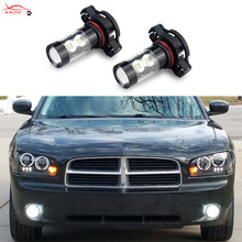 2 x Bright H11 H8 H10 H16 PSX24W LED Bulb 50W DRL Projector Fog Light For VW Passat B6 Golfe Jetta MK4 MK5 Routan Ram Dakota CC(China)