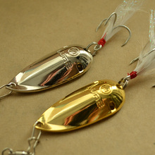 2015 lure special price catfish spoon fishing lures 5g 10g 15g gold/silver cicada metal lure bass lure for fishing free shipping