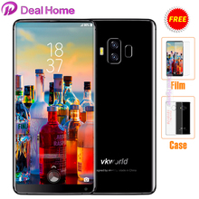 "Case+film)gifts!Vkworld S8 5.99""18:9 FHD+Face Unlock Smartphone 5500mAh Android 7.0 MT6750T Octa Core 4GB+64GB 16MP Dual cameras(China)"